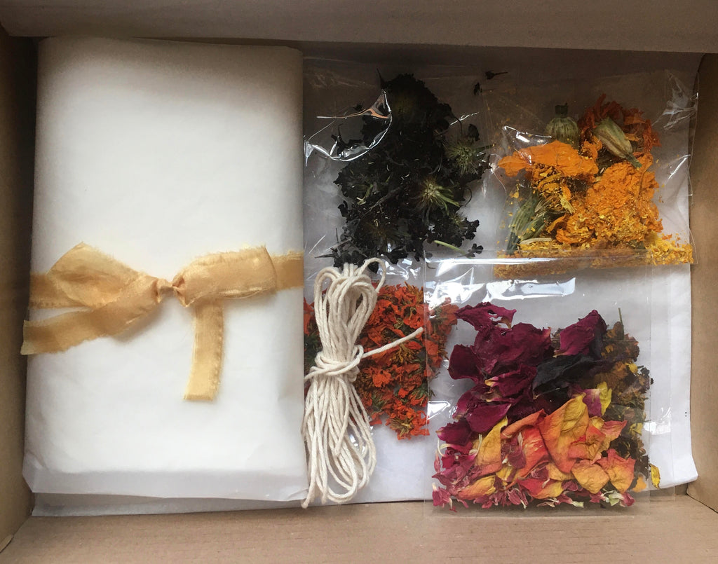 Botanical Silk Bundle Dye Kit - Pre order