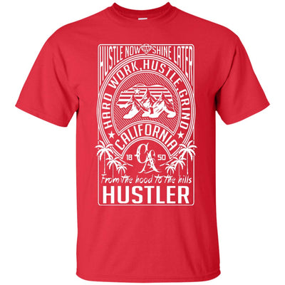 """Hustle Now Shine Later"" Premium T-Shirt"