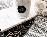 White Carrara Marble Jar