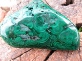 POLISHED MALACHITE PIECE x 1 from Congo, Kolwezi - TopRock