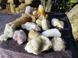 NATURAL SPIRIT QUARTZ CRYSTALS x 12 from South Africa, Kwandbele - TopRock