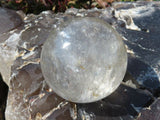 POLISHED CRYSTAL SPHERE x 1 from Madagascar - TopRock