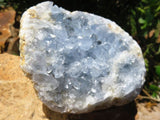 4 Natural celestite specimens - Top Rocks