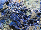 2 Natural azurite specimens from jakka mine and kibwe mines - TopRock