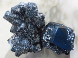 Natural Black Tourmaline Specimens x 2 from Namibia, Erongo
