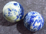Polished Sodalite Balls x 2 from Namibia - TopRock
