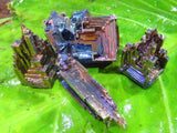 Natural Bismuth Crystals x 4 from South Africa