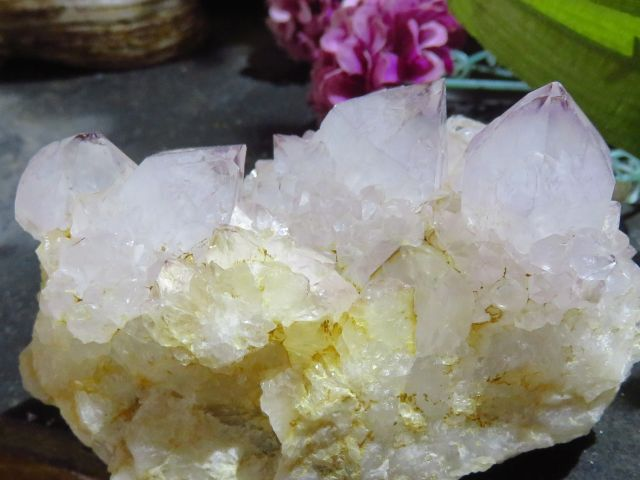 Natural spirit Quartz Clusters x 4 from South Africa, Kwandbele - TopRock