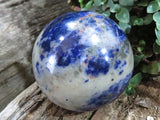 Polished Stunning Sodalite Balls x 2 from Namibia