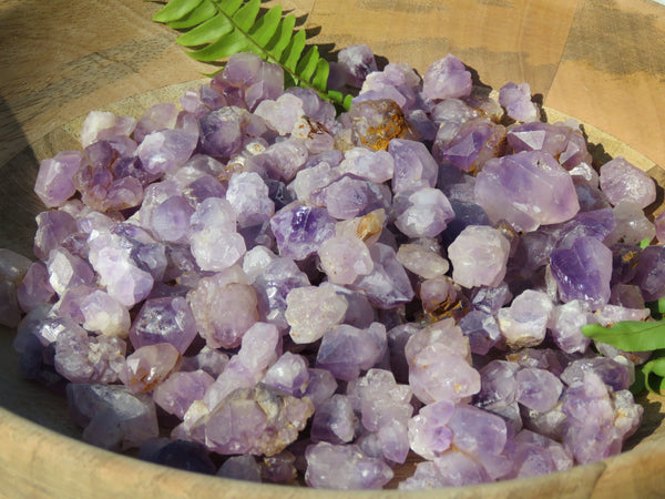 Natural Mini Amethyst Rough Crystal Specimens - sold per 1 kg  from Madagascar