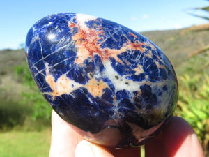 NEW Polished Sodalite Eggs x 6 from Namibia