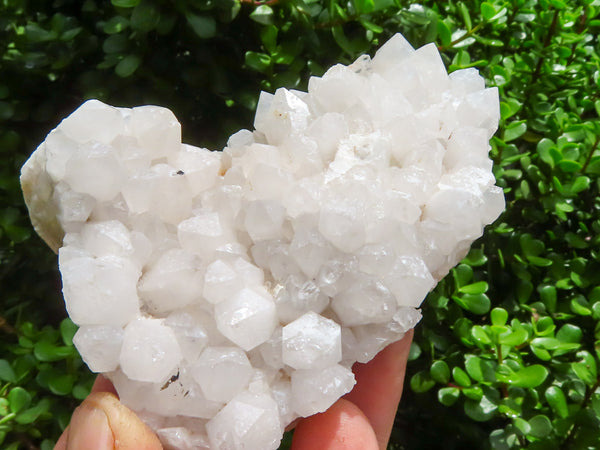 Natural Medium to Large Quartz Crystal Clusters x 12 from Madagascar