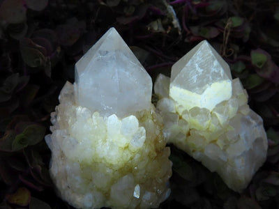 Natural Castle Quartz Crystals x 35 from Ivato, Madagascar