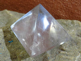 Polished Rock Crystal Quartz Pyramids x 12 from Madagascar - TopRock