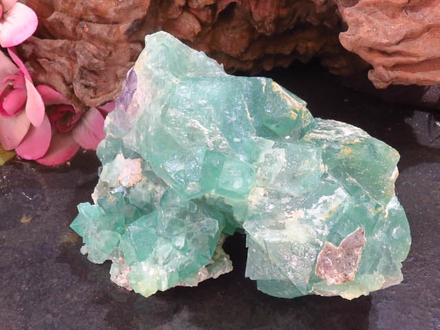 Natural Octahedron Fluorite Specimen x 1  from Northern Cape, South Africa