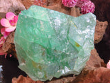 Natural Emerald Green Octahedron Cluster x 1  from Riemvasmaak, South Africa