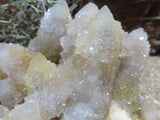 Natural Spirit Quartz Clusters x 2 from Kwandebele, South Africa - TopRock