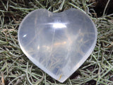 Polished Quartz Crystal Hearts x 12 from Madagascar - TopRock
