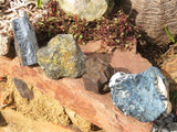 Natural Rough Mixed Pieces x 4 from Southern Africa