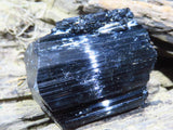 Natural Black Tourmaline Crystals x 35 from Madagascar