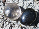 Polished Beautiful Gallets x 12 from Madagascar