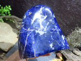 Polished XL Sodalite Standing Display piece x 1  from Namibia