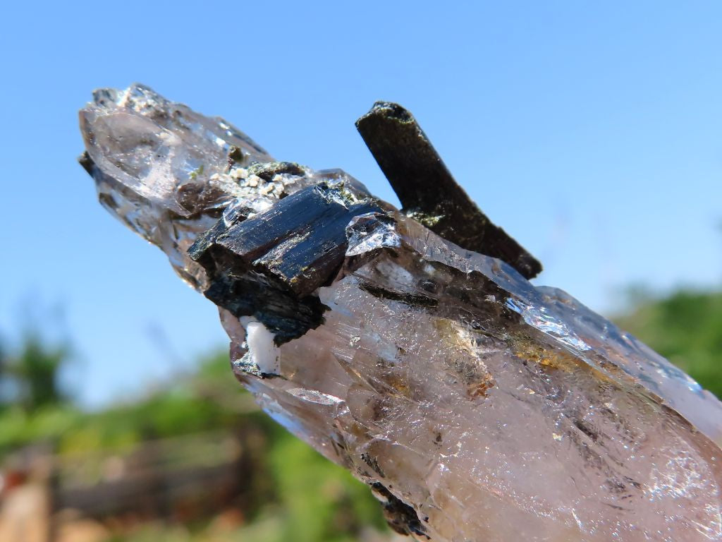 Natural Smokey Quartz Crystals x 30 from Zomba, Malawi