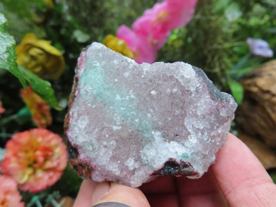 Natural Blue Copper Zinc Dolomite Minerals x 12 from Kakanda, Congo