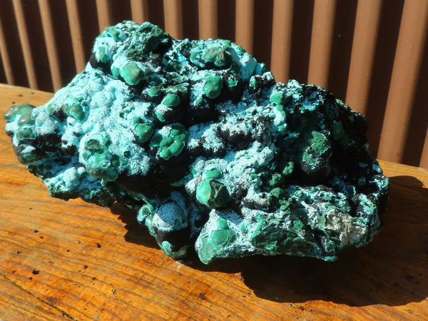 Natural XXL Chrysocolla, Heterogenite & Malachite Display Specimen x 1  from Kulukuluku, Congo