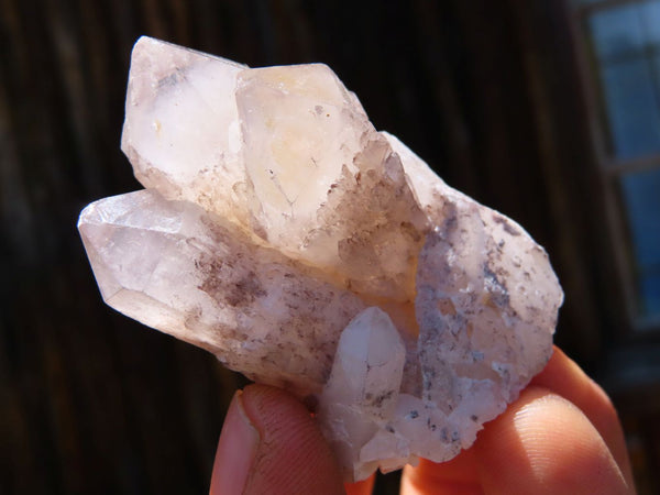 Natural Small Pineapple Candle Quartz Crystals x 35 From Ansirabe, Madagascar