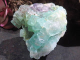 Natural Large Classic Octahedron Fluorite Specimens x 6 from Northern Cape, South Africa - TopRock