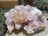 Natural Large Mixed Spirit Quartz Cluster x 6 from Kwandebele, South Africa