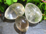 Polished Rock Crystal Eggs x 12 from Madagascar - TopRock