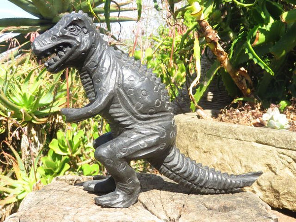 Polished Large Tyrannosaurus Rex Dino Carving x 1  from Zimbabwe