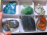 Polished Large Mixed Pieces x 6 from Southern Africa - TopRock