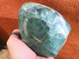 Polished Watermelon Fluorite SDFF x 1  from Namibia - TopRock