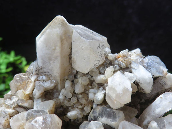 Natural Pineapple Quartz Clusters x 4 From Ansirabe, Madagascar
