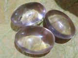 Polished Rock Crystal gallets x 35 from Madagascar - TopRock
