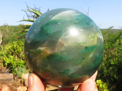 Polished Large Jade Ball x 1 From Swaziland