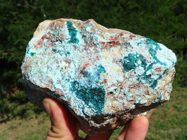 Natural Large Affordable Dioptase Rough Pieces x 2 from Kaokoveld, Namibia