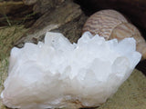 Natural Madagascan Quartz Crystal Clusters x 6 from Madagascar