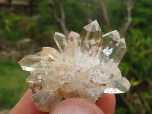 Natural Mixed Quartz Crystals & Clusters x 24 from Brandberg, Namibia