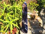 Polished XXL Sodalite Crystal Point x 1  from Namibia
