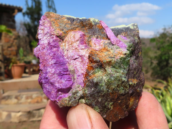 Natural Medium Stichtite & Serpentine Specimens x 24 from Barberton, South Africa