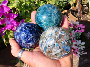 Polished Mixed Balls x 6 from Southern Africa
