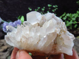 Natural Clear Quartz Clusters x 12 from Madagascar