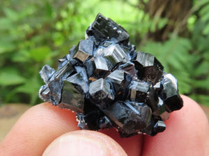 Natural Schorl / Black Tourmaline Crystalline in Balls & Plates x 13 from Erongo, Namibia