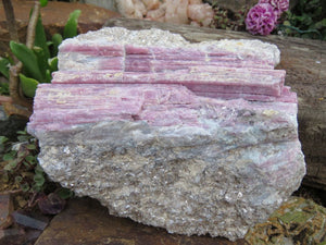 Natural Rubellite Pink Tourmaline Crystal x 1 from Karibib, Namibia