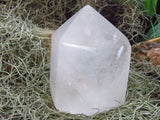Polished Large Standing Quartz Point x 1  from Madagascar - TopRock