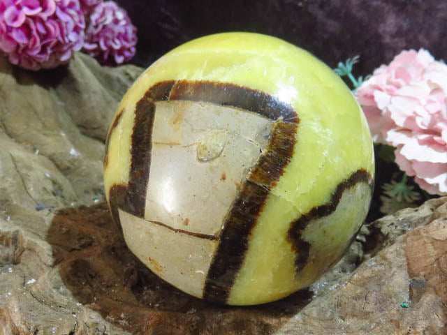 Polished Large Septerye Ball x 1  from Mahajanga, Madagascar - TopRock
